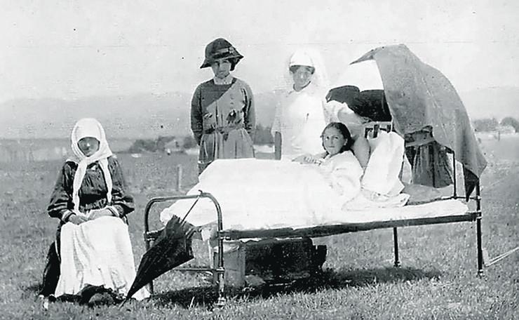 britanske bolničarke