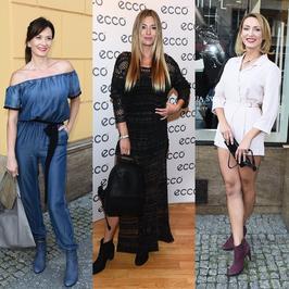 Marcelina Zawadzka, Anita Sokołowska i Anna Kalczyńska na konferencji marki obuwniczej. Jedna z pań absolutnie nas zachwyciła!