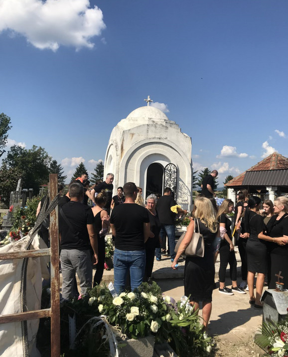 Dijana Milojković sahrana