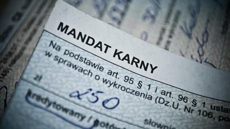 Mandat karny
