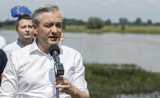 Biedroń zapowiada wizytę na Białorusi. Bedzie zabiegał o uwolnienie polskich obywateli