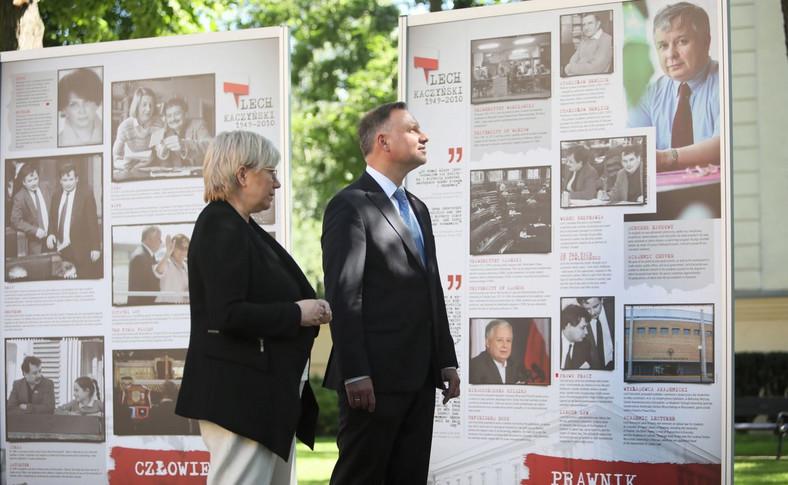 Andrzej Duda, Julia Przyłębska, Lech Kaczyński