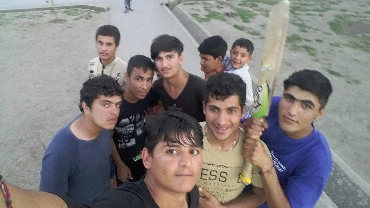 migranti selfi 3