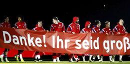 Lewandowski z kolegami podziękował kibicom! Genialna oprawa na Allianz Arena! WIDEO