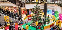 Dzieciaki ułożyły największą w Polsce choinkę z klocków Lego