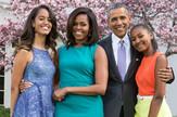 Porodica Obama sa svojim ljubimcima