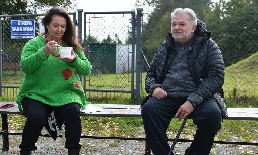 Anna Dymna i Krzysztof Globisz
