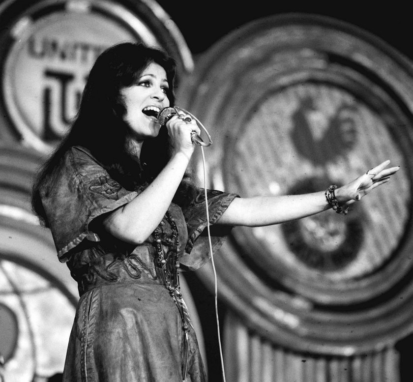 Anna Jantar w Sopocie w 1976 roku
