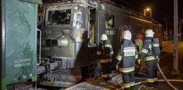 Pijany maszynista jechał płonącym pociągiem