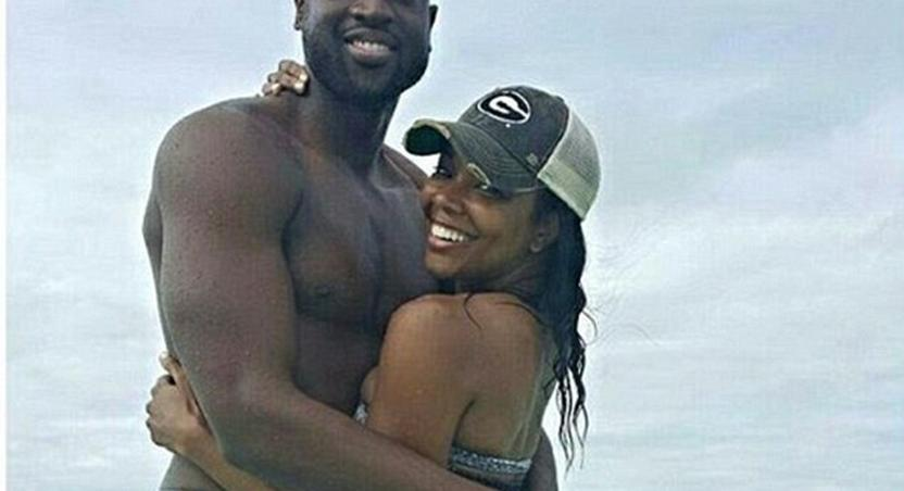 Celebrity couple, Gabrielle Union and Dwyane Wade, vacation to mark first wedding anniversary