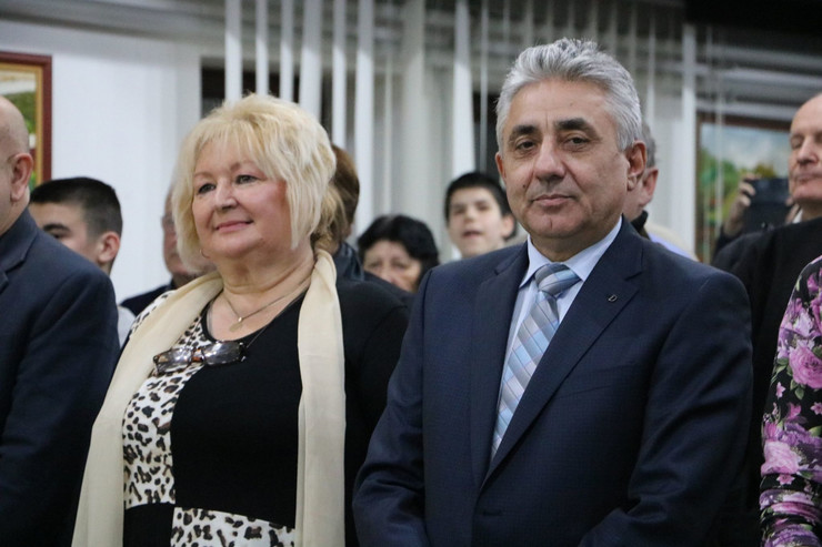 Živadinka Avramović i Dragoljub Simonović