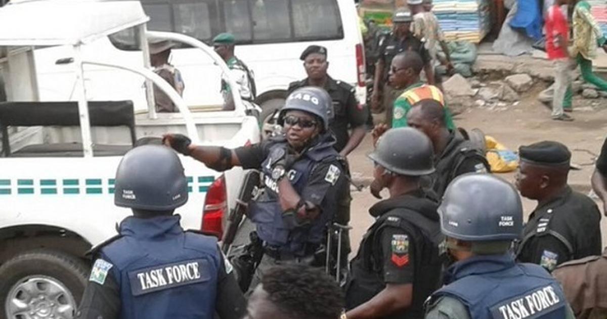 Lagos State Task Force arrests 71 suspected miscreants in Oshodi - Pulse Nigeria