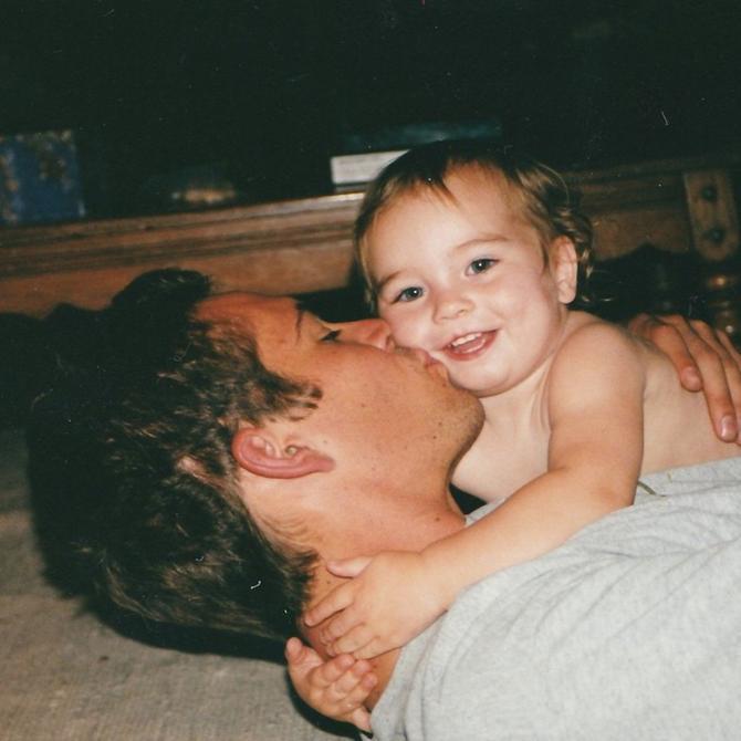 Voker sa ćerkom