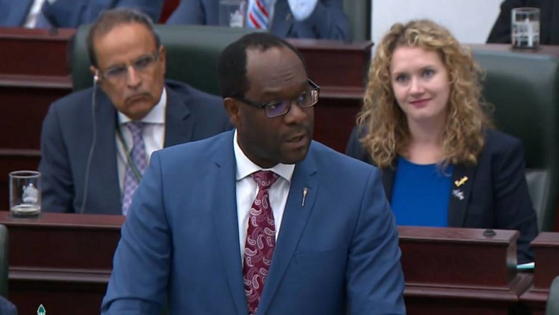 Nigerian born Kaycee Madu, appointed Minister of Justice and Solicitor General for the Government of Alberta, in Canada says his cousin was killed in Mushin, Lagos in 2013 and all efforts made to get justice failed. [lagospostng]