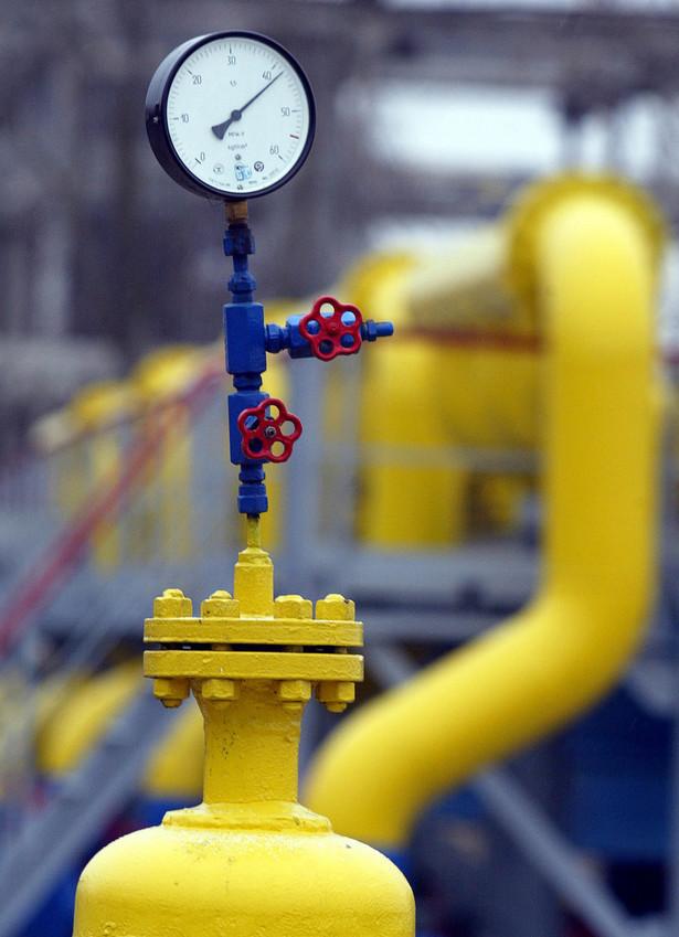 Od stycznia gazu nie przesyła do Polski spółka RosUkrEnergo (RUE), która od 2006 roku dostarczała do Polski 2,3 mld m sześc. gazu rocznie. Fot. Bloomberg