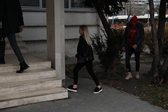 Đurđija Alimpijević došla na suđenje