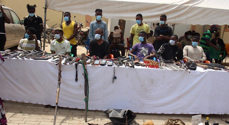 Police arrest 48 suspects over armed robbery, kidnapping other criminal offences