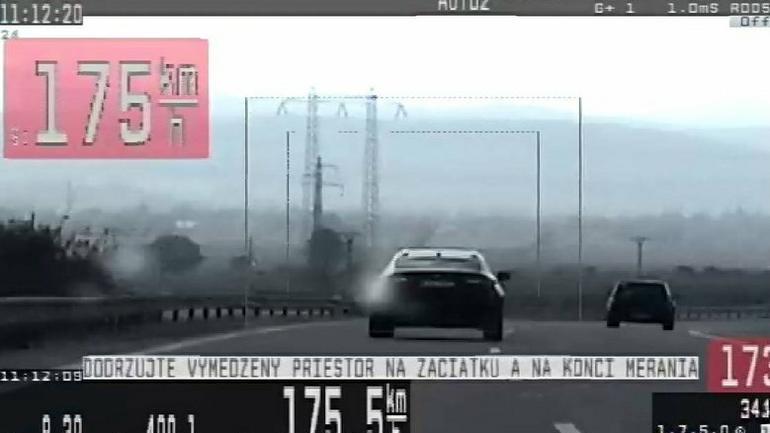 Słowacka policja ukarała kolejnego kierowcę z Polski