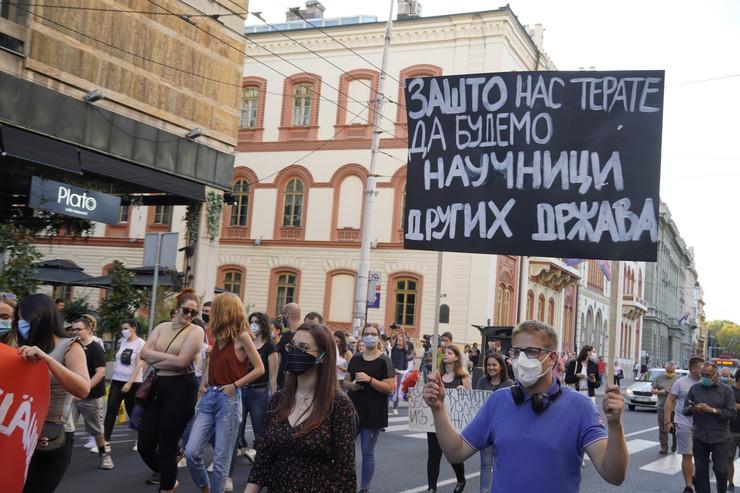 Protest studenti Beograd