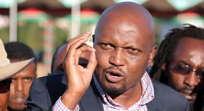 Moses Kuria goes after Alfred Mutua for exposing alleged plot by Kalonzo and Muthama to scuttle handshake