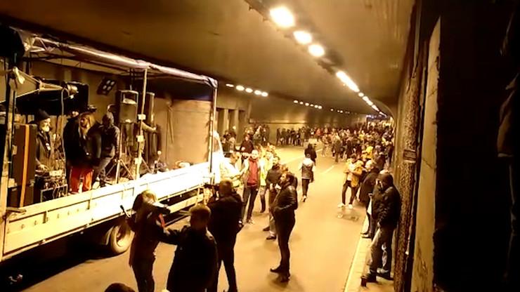 protesti 0203 ispred tunela