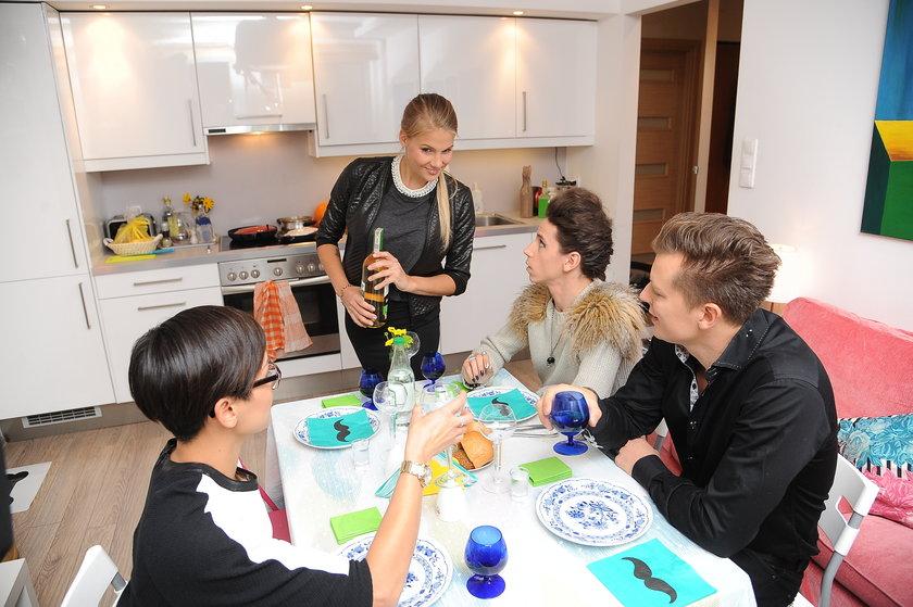 """Rafał Brzozowski, Natalia Nguyen, Marta Wierzbicka i Michał Szpak w """"Ugotowanych"""""""