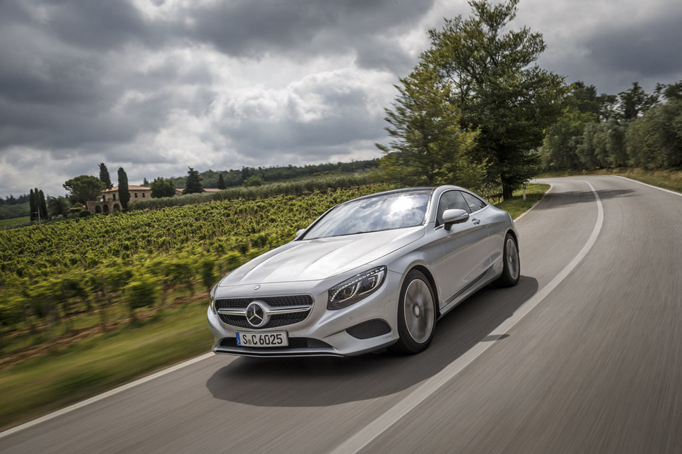 Mercedes S Coupe - komfort absolutny