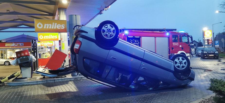 Wypadek w Wieluniu