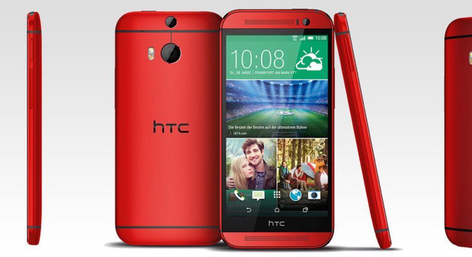One (M8): HTC kündigt Glamour-Red-Variante an