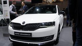 Škoda Rapid : bezpieczniejsza i oszczędniejsza