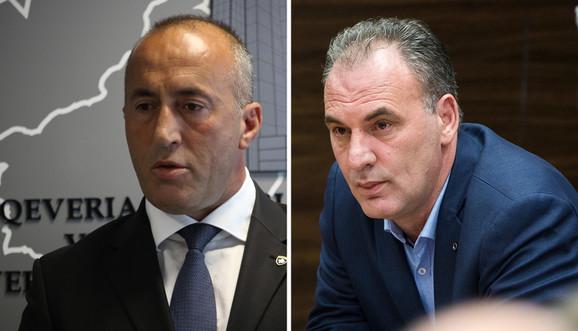 Ramuš Haradinaj i Fatmir Ljimaj