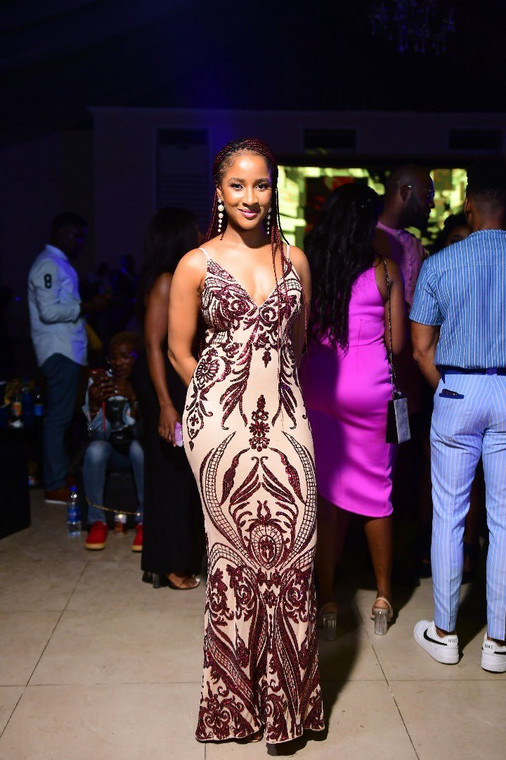 Adesua Etomi-Wellington at the 2020 AMVCA nominee cocktail party [BHMNG]