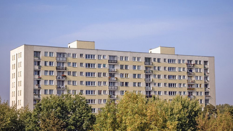 Warszawa blok na Bródnie