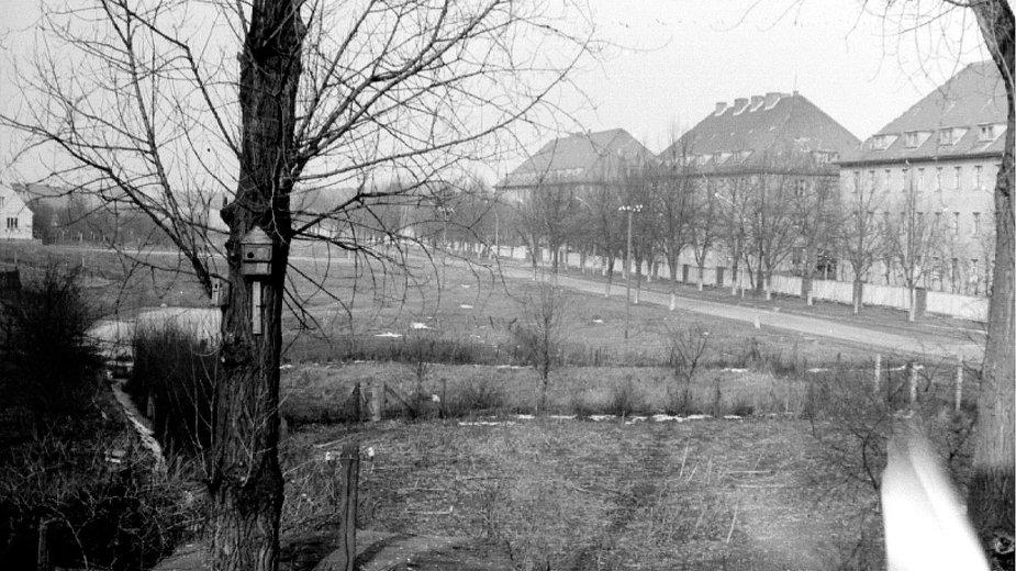 Sowieckie koszary i ich najbliższe sąsiedztwo