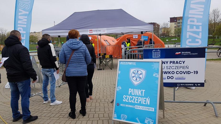 Mobilny punkt szczepień w Gorzowie
