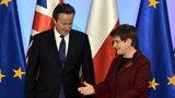 Brytyjski premier dzwonił do Szydło. O czym rozmawiali?