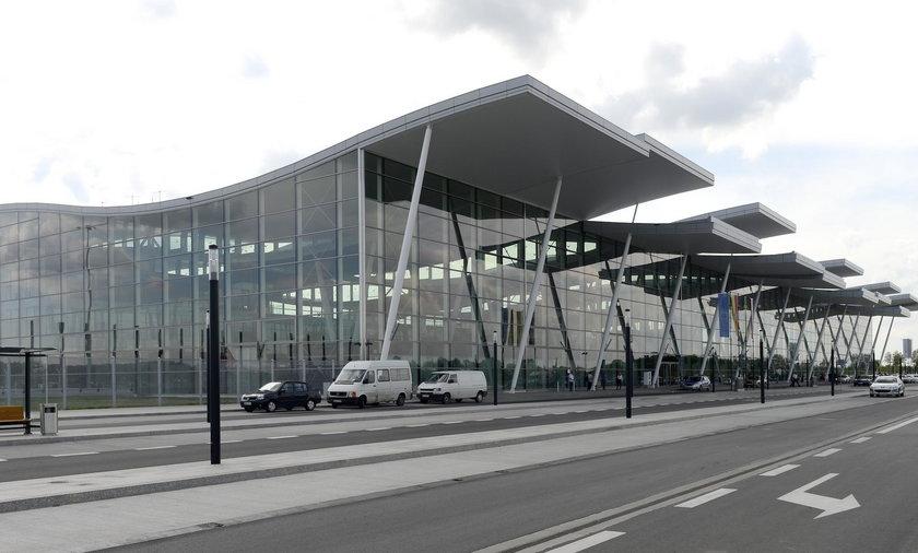 Incydent miał miejsce na wrocławskim lotnisku