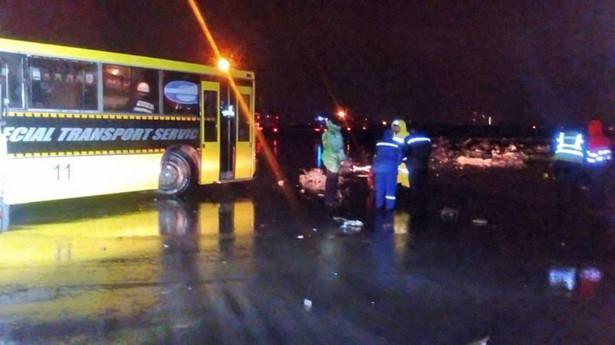 Katastrofa samolotu w Rostowie nad Donem, w południowej Rosji.