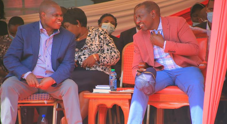 DP Ruto mourns Deputy Governor Joash Maangi's father