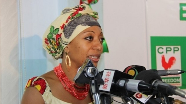 Samia Nkrumah, Former National Chairperson of CPP
