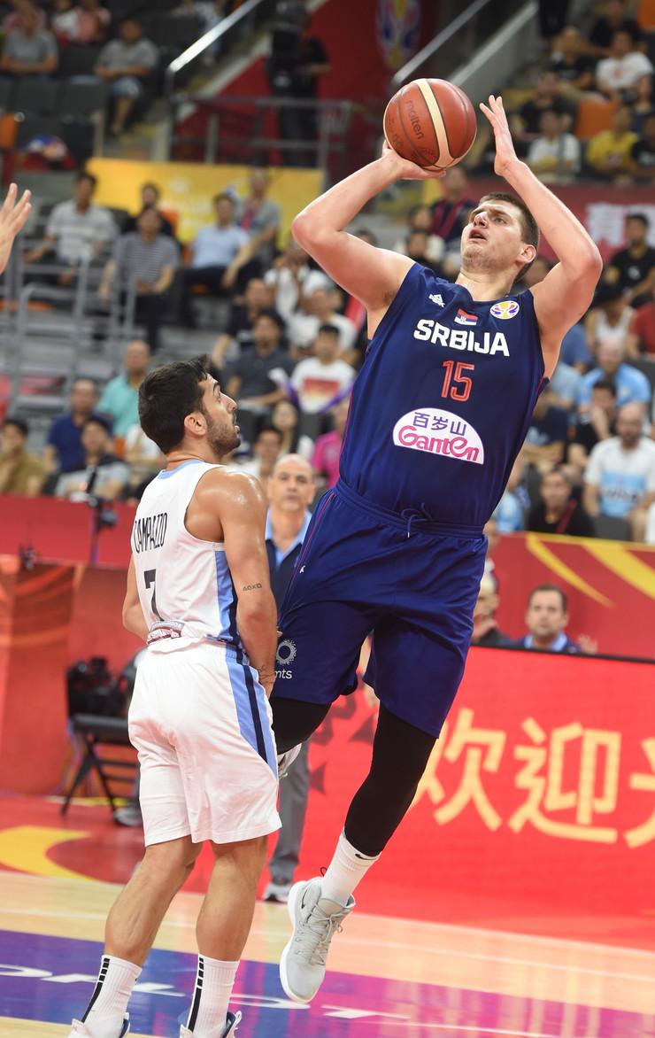 Košarkaška reprezentacija Srbije, Argentine