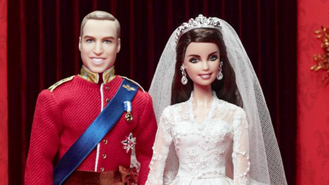 Książę William i Kate Middleton Barbie