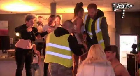Miljana NASRNULA na Matoru: Nanela joj povrede, obezbeđenje ULETELO, odmah je diskvalifikovana!