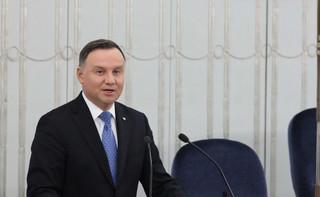 Andrzej Duda sceptyczny wobec zniesienia trzydziestokrotności? 'Mamy nadzieję, że ustawa nie trafi do prezydenta'