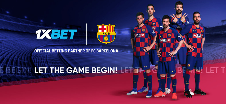 FC Barcelona. Online betting company 1xBet, new Global Partner of FC Barcelona