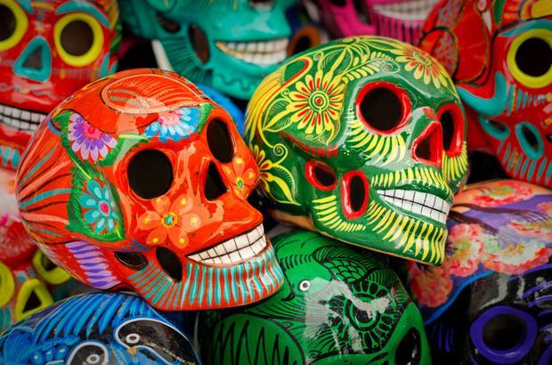 Meksykańskie czaszki