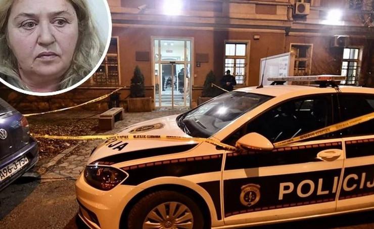 Napad na policajca, Sarajevo