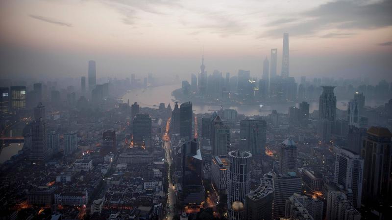 Krajobraz Szanghaju
