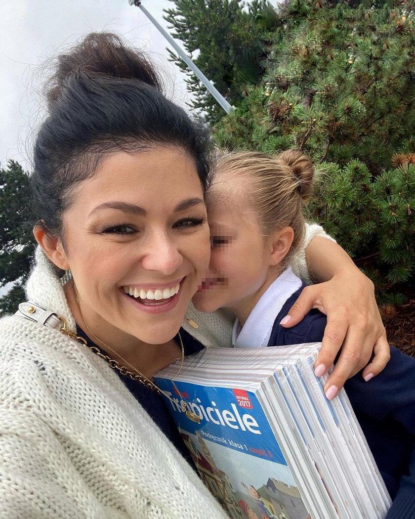 Kasia Cichopek z córką