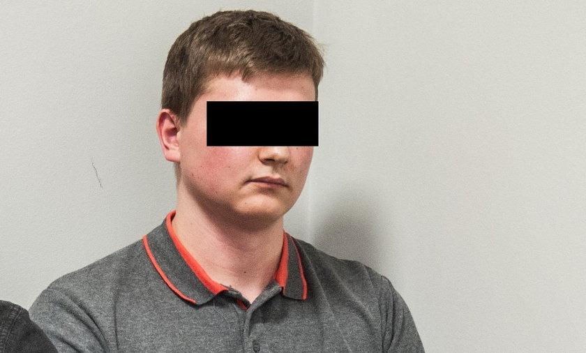 Nastolatek spowodował wypadek, ale winna jest ofiara